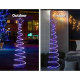 Christmas LED Motif Light 1.88M Tree Waterproof Colourful