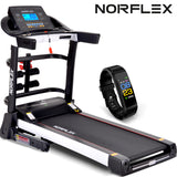 NORFLEX Electric Treadmill Auto Incline Home Gym Exercise Machine Fitness
