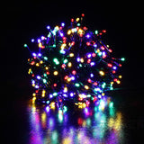 Xmas Solar 500 LED String - MULTI COLOUR