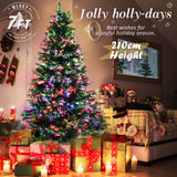 7Ft-210cm-Fibre-Optic-LED-Xmas-Tree---BAUBLES-MULTI-COLOUR-NXM-XS-STF7-BB-afterpay-zippay-oxipay