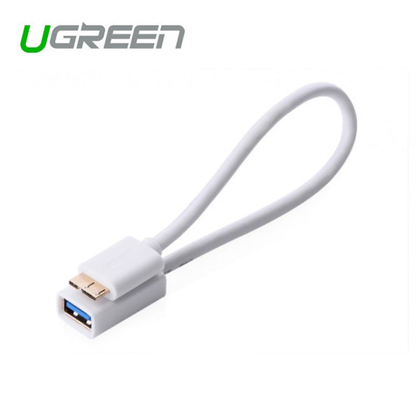 UGREEN Micro USB 3.0 OTG Cable For Samsung Note 3/S4/S5 White