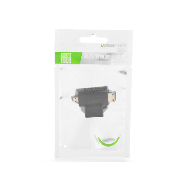 Ugreen Micro HDMI + Mini HDMI Male to HDMI Female Adapter