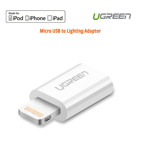 Ugreen 20745 Micro USB to Lighting Adaptor