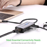 UGREEN USB Type C Hub 3 Ports with Fast Ethernet 30289