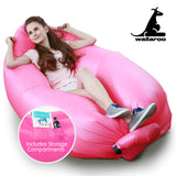 Wallaroo Inflatable Air Bed Lounge Sofa - Pink