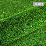 Artificial Grass 10 SQM Polypropylene Lawn Flooring 1X10M Green
