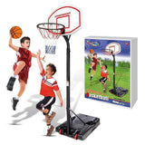 Basketball Hoop with Backboard - 180cm to 320cm