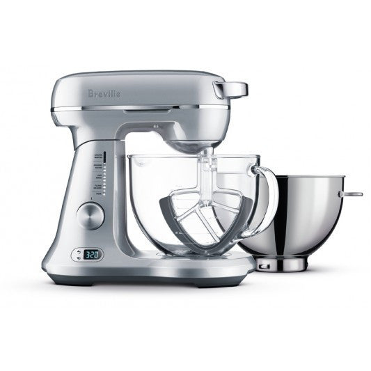 Kitchen Bench Mixers: Breville The Bakery Boss Silver Pearl Ben