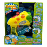 Bubble Fun 2-in-1 Bubble N' Water Blaster