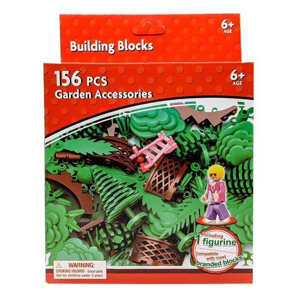 Building Blocks Garden and Nature Set - 156 Pieces