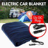 Heated Electric blanket car 150x110cm 12v - Blue