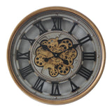 Luxurious-Round-Rotary-Gears-Metal-Wall-Clock-V48-CCM-7011-afterpay-zippay-oxipay
