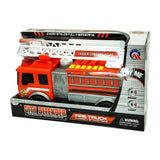 City Defender Fire Truck with Lights, Sounds and Water Cannon