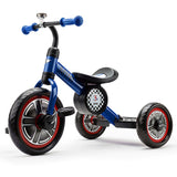 "Mini Cooper Blue 10"" Kids Push Tricycle Ride-On Bike"