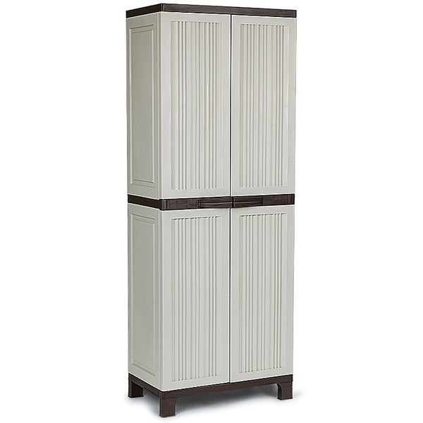 172CM Lockable Outdoor Storage Cabinet