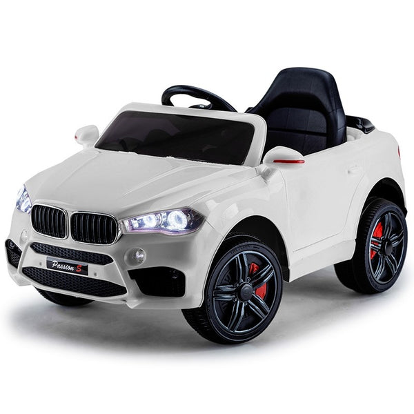BMW X5 Inspired White Kids Ride On Car