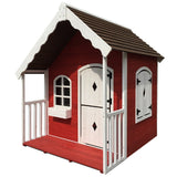 Cubby House Wooden Cottage Outdoor Furniture Playhouse Children Toy