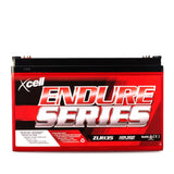 AGM Deep Cycle Battery 12V 135Ah Portable Sealed SLA Camping Solar Marine