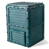 Green 290L Aerated Compost Bin Recycling
