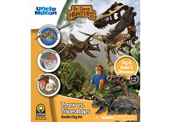 dino-battle-excavation-kit-t-rex-vs-triceratops-FAK-DRS91072-afterpay-openpay-laybuy