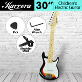 Karrera Childrens Electric Guitar 3W Sunburst