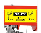 510W Electric Hoist Winch - 125/250 kg