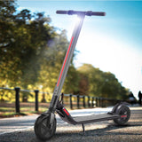 250W Brushless Electric Scooter Portable Foldable Commuter Bike W/ Light