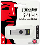 Kingston DataTraveler Swivl 32GB USB Drive