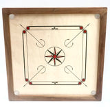 84x84cm Plywood Carrom Board with 74x74cm Internal Playing Area
