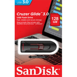 SANDISK SDCZ600-128G 128GB CZ600 CRUZER GLIDE USB 3.0 VERSION