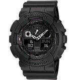 Casio-G-Shock-Analogue/Digital-Mens-Black-Watch-GA100-1A1-GA-100-1A1DR-KLK-27_ga-100-1a1-afterpay-zippay-oxipay