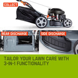 "18"" Self-Propelled Key Start Lawn mower - 750SXi"