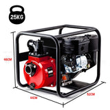 "2"" High Flow Petrol Water Pump Red - PRP-02F"