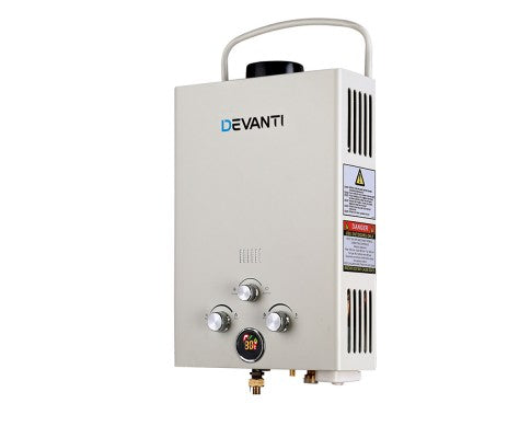 Portable Gas Hot Water Heater and Shower