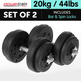 20kg Home Gym Dumbbell Set