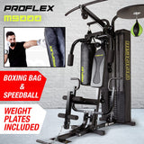 Proflex Multifunction Home Gym, Boxing Bag & Speed Ball- M9000