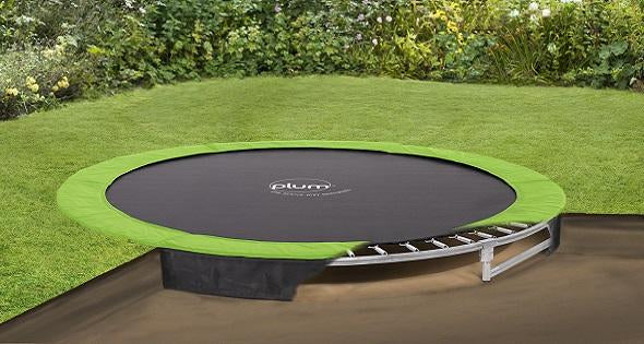 12ft Circular In-Ground Trampoline