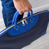 Garment Bag - Navy/Blue