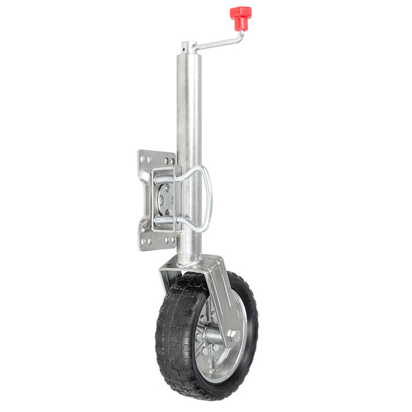 Swing Jockey Wheel for Trailer Boat Caravan Camper Jack
