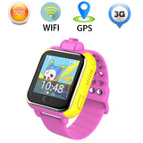 Kids Smartwatch in Pink - 3G GPRS GPS Locator, Tracker, Camera for IOS & Android