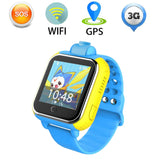 Kids Smartwatch in Blue - 3G GPRS GPS Locator, Tracker, Camera for IOS & Android