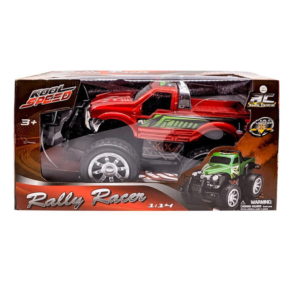 Kool Speed 1:14 Remote Control Red Rally Racer