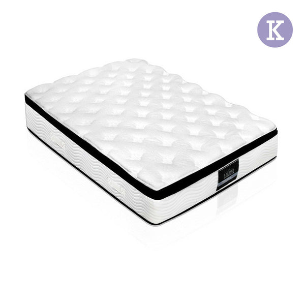 Latex Pillow Top Pocket Spring Mattress King