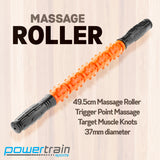 Massage Roller Stick Trigger Point Massager Orange - 49.5cm