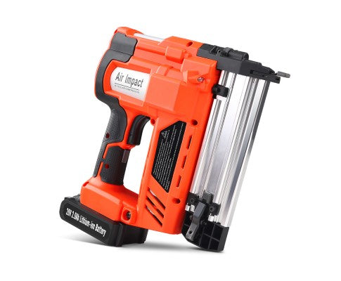2-in-1 Nail Gun with a Lithium Battery