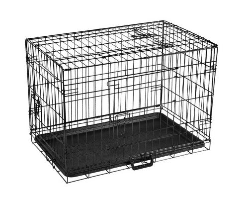 30 Inch Metal Collapsible Dog Cage Afterpay Zippay