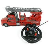 Remote Control Fire Engine with Lights