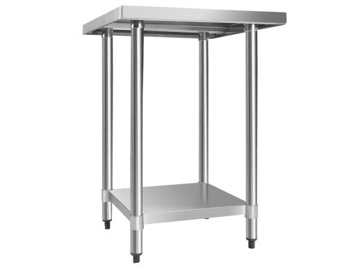 430 Stainless Steel Kitchen Work Bench Table 610mm