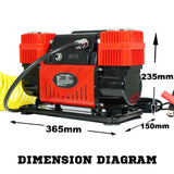 12V-Air-Compressor-4x4-Tyre-Deflator-Car-4wd-Portable-Inflator-220PSI-300L/min-V13-SY-113-afterpay-zippay