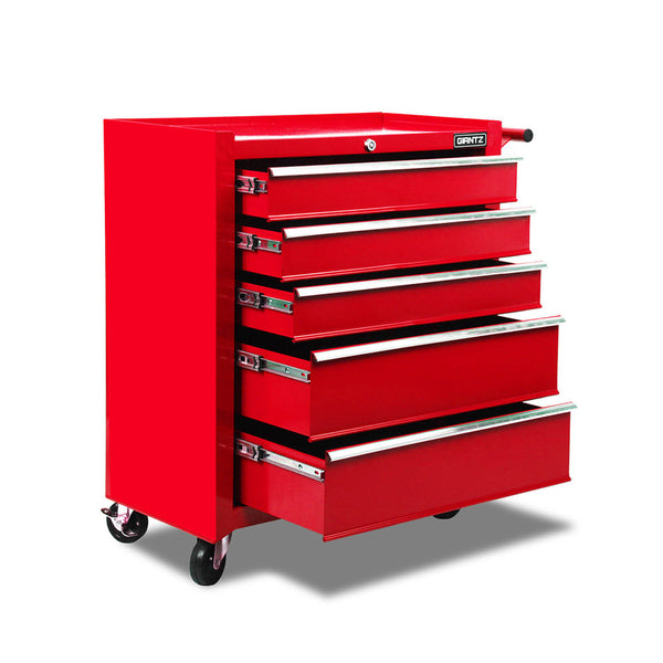 5 Drawers Roller Toolbox Cabinet